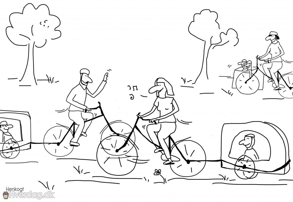 Cykeltrailer løgnen