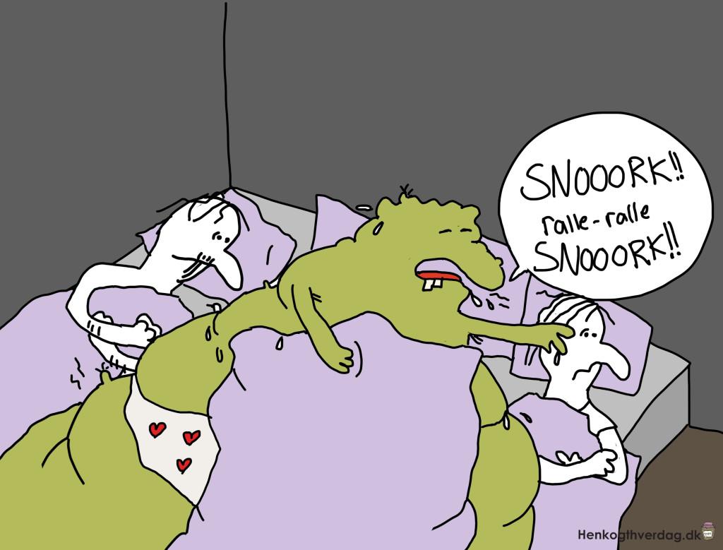 Sove med sygdommen