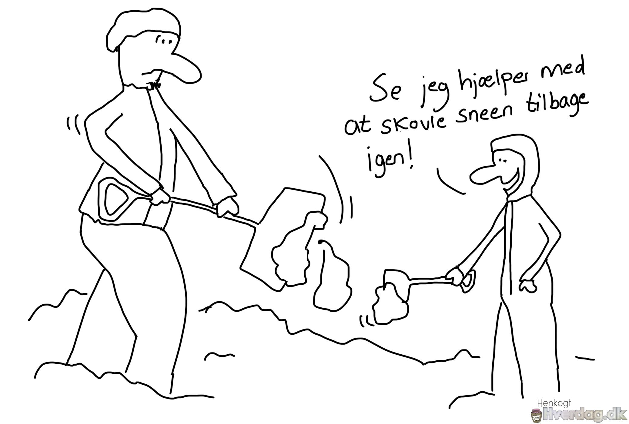 sne-hjælp